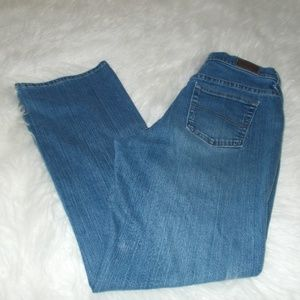 Lee Relaxed Bootcut Jeans Size 8 Short